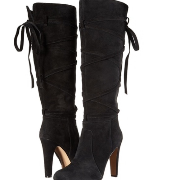 54aede068dd Vince Camuto Millay suede tall boots so cute!